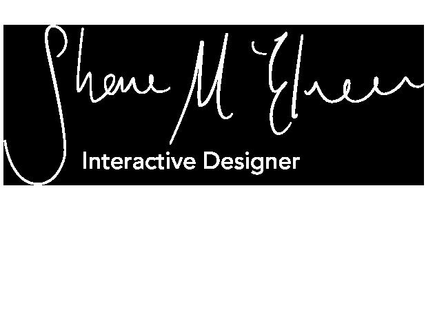 Shane McElveen - interactive designer