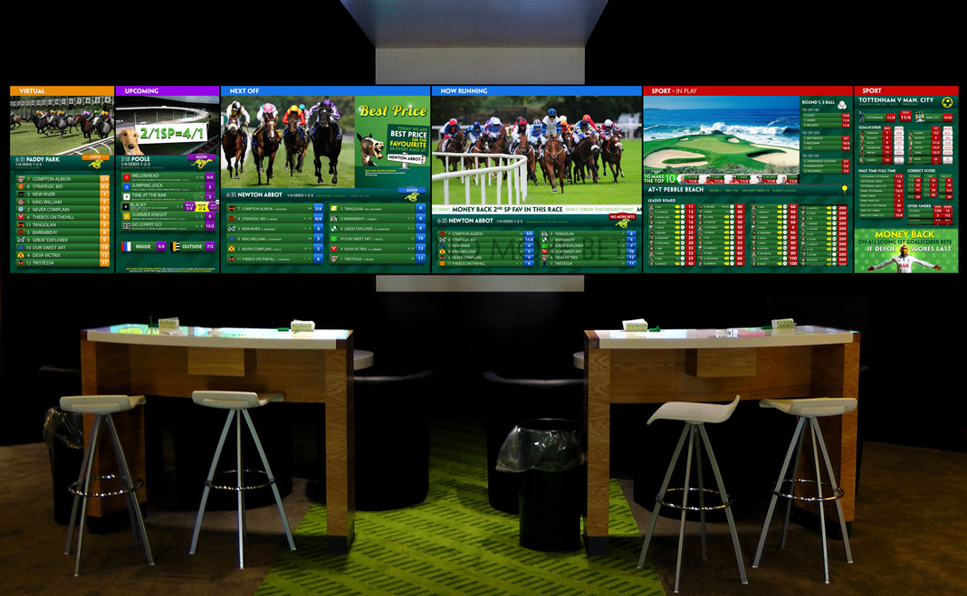 Paddy Power Next Generation Screens